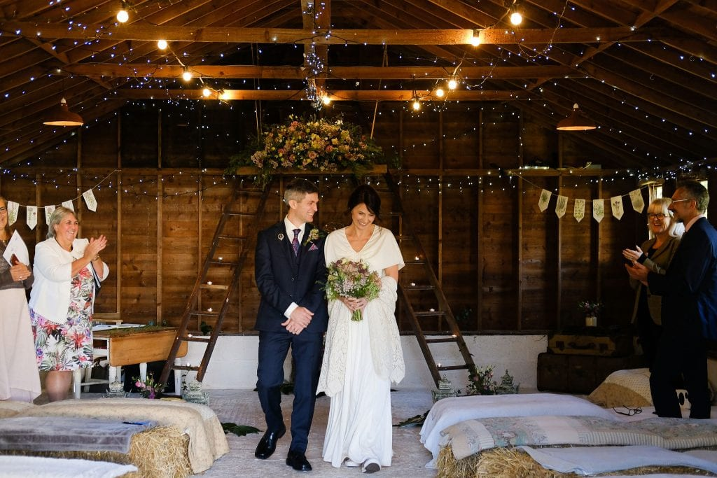 lisa and paul's elopement at the cow shed
