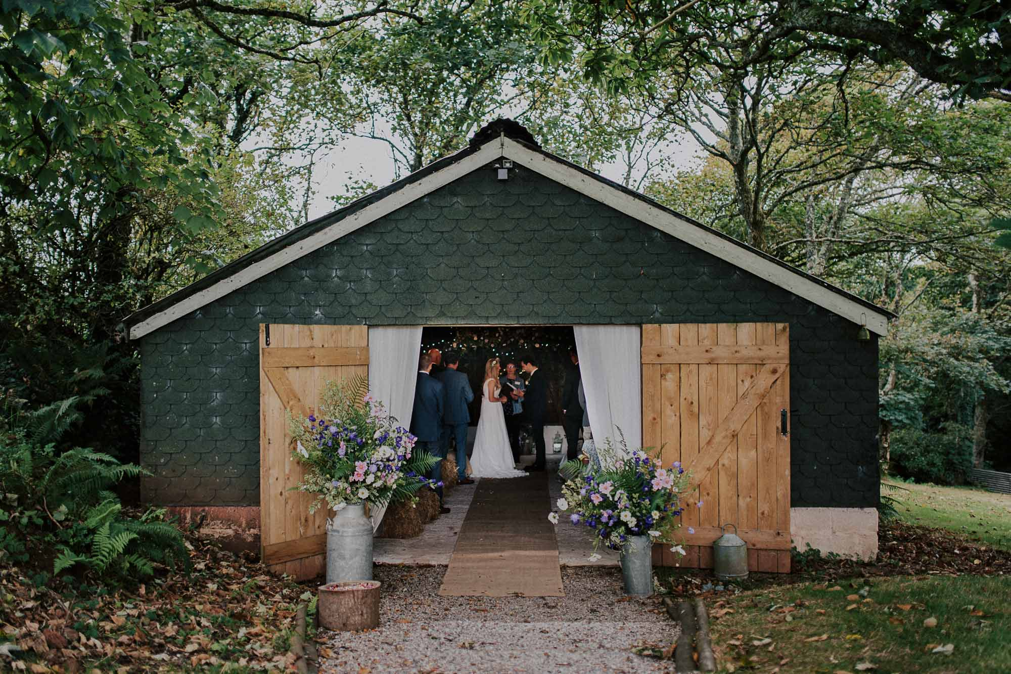 The Cow Shed wedding ceremony barn