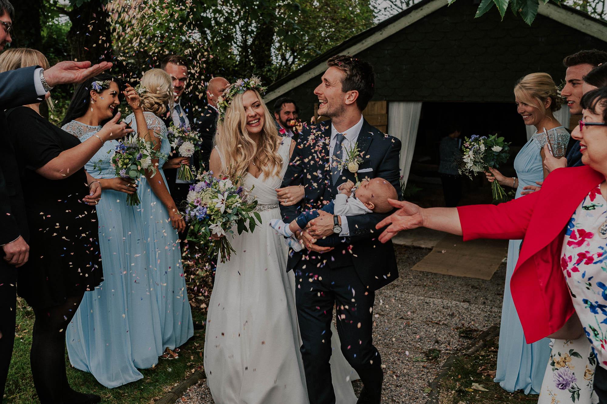 Victoria and Steve wedding confetti
