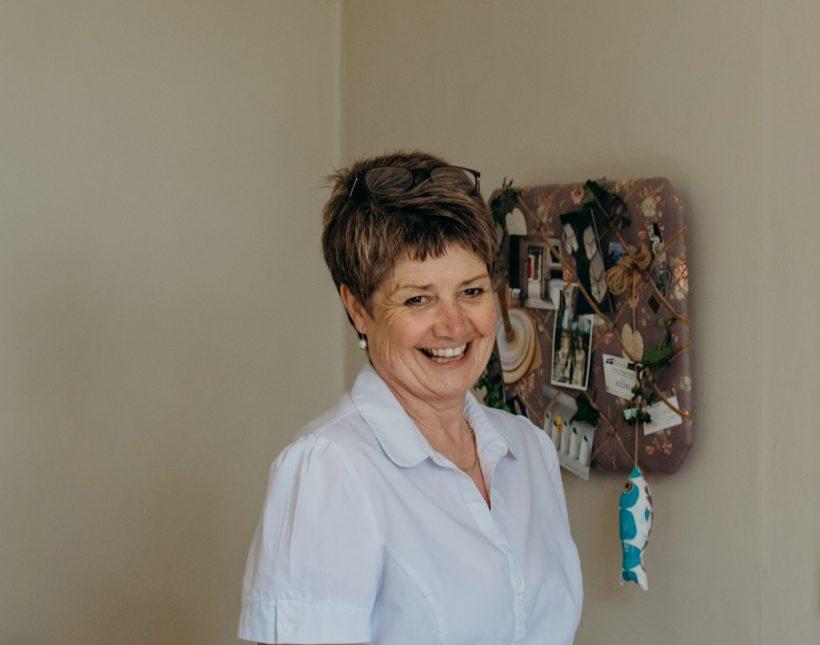 Our wedding coordinator Cheryl